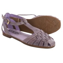 Pikolinos Menorca 7517 Leather Sandals (For Women) in Purple - Closeouts