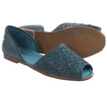 Pikolinos Menorca Leather Sandals (For Women) in Ocean - Closeouts