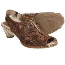Pikolinos Paris Sandals - Sling-Backs (For Women) in Brandy - Closeouts