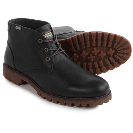 Pikolinos Seoul Mid Boots - Leather (For Men) in Black - Closeouts