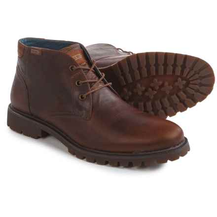 Pikolinos Seoul Mid Boots - Leather (For Men) in Tan - Closeouts
