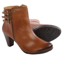 Pikolinos Verona Leather Ankle Boots (For Women) in Cognac - Closeouts