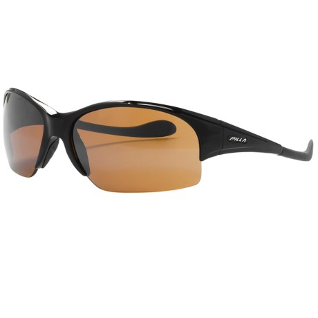 Pilla National V25 Shooting Glasses (For Men) in Black