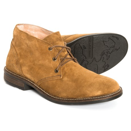 Pilot Chukka Boots - Suede (For Men)