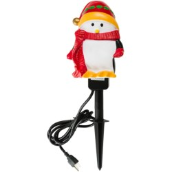 Pine Top Penguin Stake Outlet - 6' Cord in Penguin