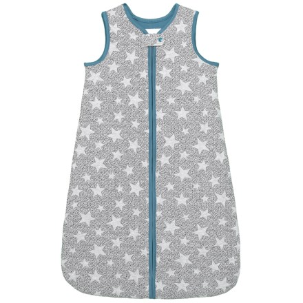 57d758f9a Piper   Posie Quilted Star Short Sleeping Bag (For Infants) in Heather Grey  Blue