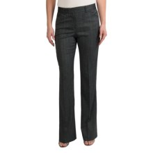 Pippa Herringbone Pants - Bootcut (For Women) in Black Twist - Closeouts