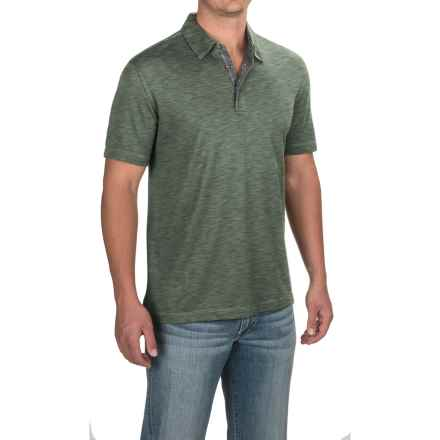 Pique Polo Shirt - Short Sleeve (For Men) in Anthracite - 2nds