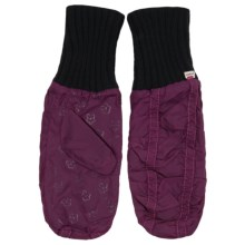 Pistil Agnes Mittens - Fleece Lined (For Women) in Eggplant - Closeouts