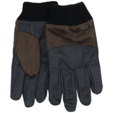 Pistil Anderson Gloves - Coated Canvas (For Men) in Black - Closeouts