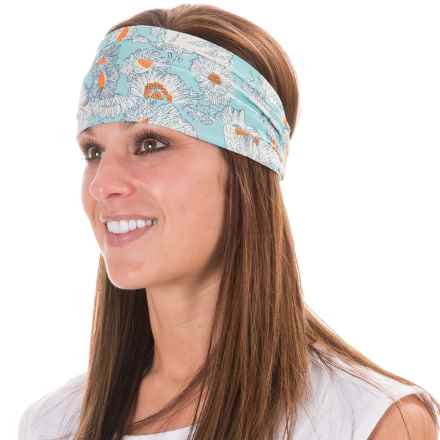 Pistil Asters Headband (For Women) in Aqua - Closeouts