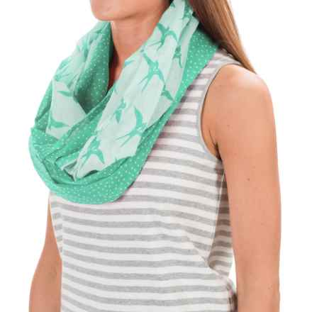 Pistil Avery Infinity Scarf (For Women) in Jade - Closeouts