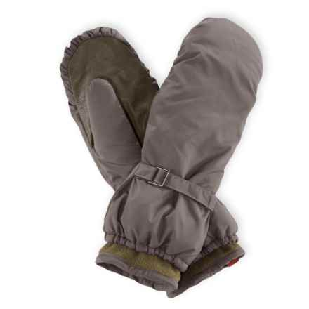 Pistil Butter Mittens - Insulated, Fleece Lined (For Women) in Olive - Closeouts