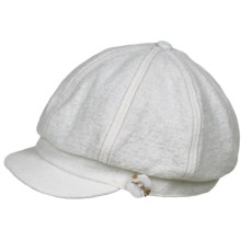 Pistil Cabbie Cap (For Women) in White - Closeouts