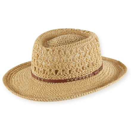 Pistil Chelsea Straw Sun Hat (For Women) in Natural - Closeouts