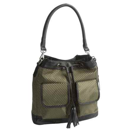 Pistil Double-Dare You Crossbody Bag (For Women) in Iguana - Closeouts