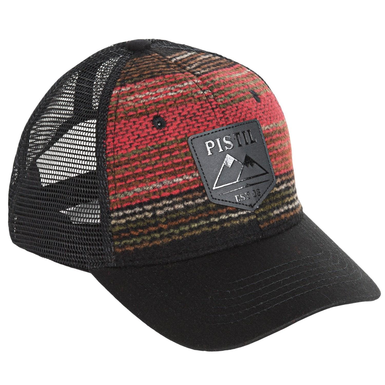 Pistil Dwight Trucker Hat (For Men) - Save 56% 64b4be8cb77