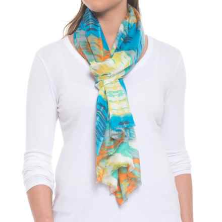Pistil Enza Scarf (For Women) in Blue - Closeouts