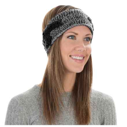 Pistil Fawn Knit Headband (For Women) in Charcoal - Closeouts