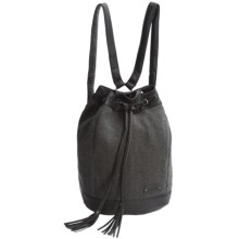 Pistil Finders Keepers Backpack (For Women) in Raven - Closeouts
