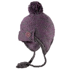 Pistil Freesia Ear Flap Beanie Hat (For Women) in Plum - Closeouts