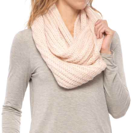 Pistil Frenchi Knit Infinity Scarf (For Women) in Blush - Closeouts