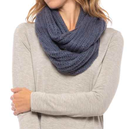 Pistil Frenchi Knit Infinity Scarf (For Women) in Indigo - Closeouts
