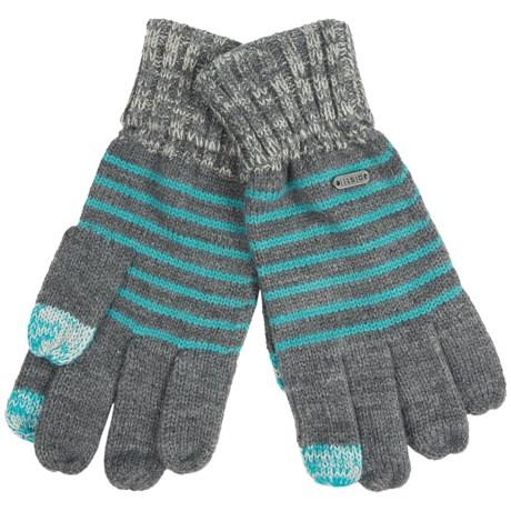 Pistil Gossip Knit Gloves - Touch-Screen Compatible (For Women) in Blue