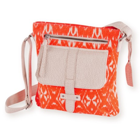 Pistil Gotta Run Crossbody Bag (For Women) in Dynamite