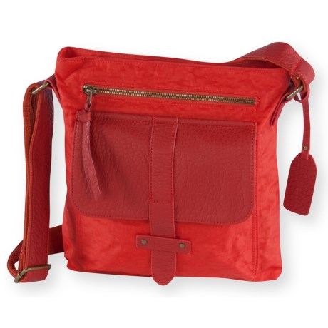 Pistil Gotta Run Crossbody Bag (For Women) in Hot Sauce