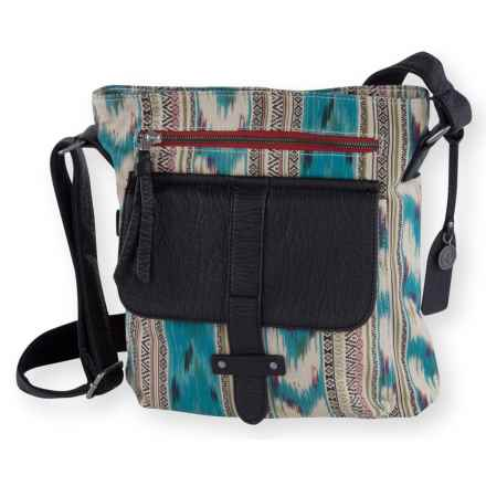 Pistil Gotta Run Crossbody Bag (For Women) in Oasis - Closeouts