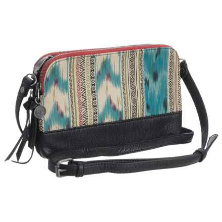 Pistil Hands Off Crossbody Clutch (For Women) in Oasis - Closeouts