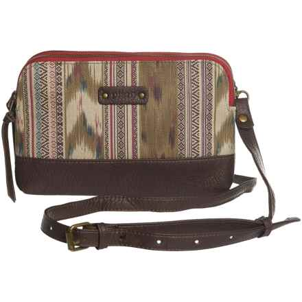 Pistil Hands Off Crossbody Clutch (For Women) in Sahara - Closeouts