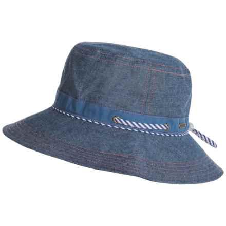 Pistil Hilary Sun Hat (For Women) in Denim Blue - Closeouts