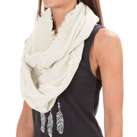 Pistil Jayda Infinity Scarf (For Women) in Ivory - Closeouts