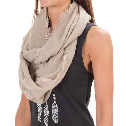 Pistil Jayda Infinity Scarf (For Women) in Linen - Closeouts