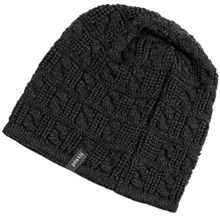 Pistil Johnny Knit Beanie - Merino Wool (For Men) in Charcoal - Closeouts