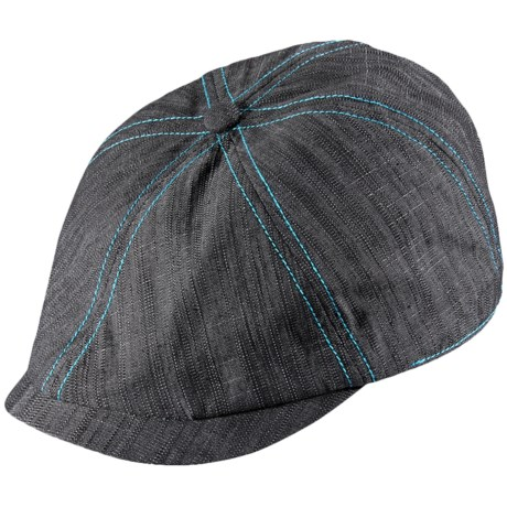 Pistil Kody Driver Cap - Stretch Cotton (For Women) in Black