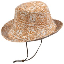 Pistil Lola Sun Hat - Cotton Canvas (For Women) in Orange - Closeouts