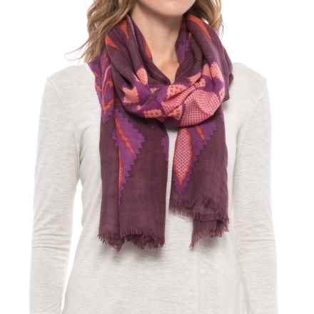 Pistil Lupita Wool Scarf (For Women) in Berry - Closeouts