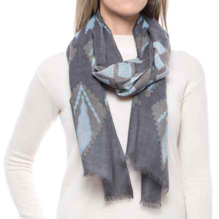Pistil Lupita Wool Scarf (For Women) in Grey - Closeouts