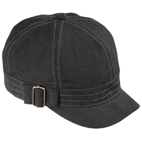 Pistil Mae Cabbie Cap (For Women) in Black