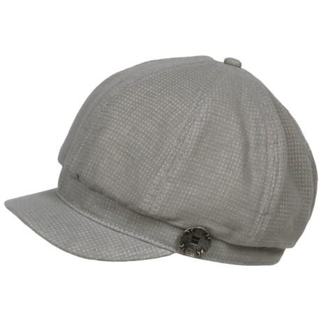 Pistil Mae Cabbie Cap (For Women) in Gray