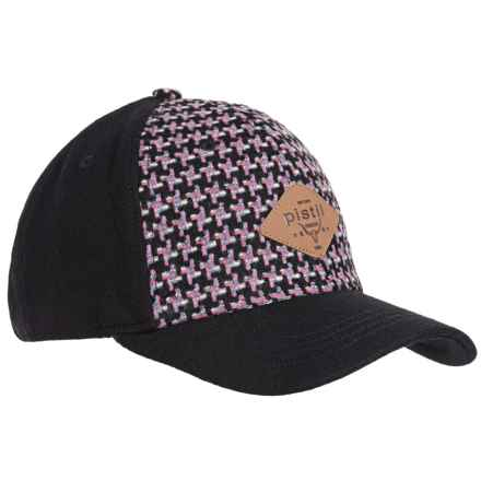 Pistil Midtown Trucker Hat (For Women) in Black - Closeouts