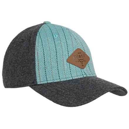 Pistil Midtown Trucker Hat (For Women) in Turquoise - Closeouts