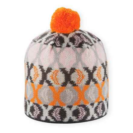 Pistil Mimic Beanie - Wool Blend (For Women) in Orange - Closeouts