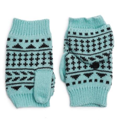 Pistil Nessie Convertible Mittens (For Women) in Sky