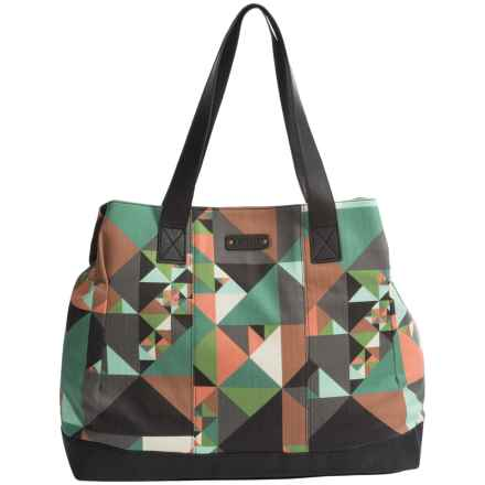 Pistil No Big Deal Tote Bag (For Women) in Kaleidoscope - Closeouts