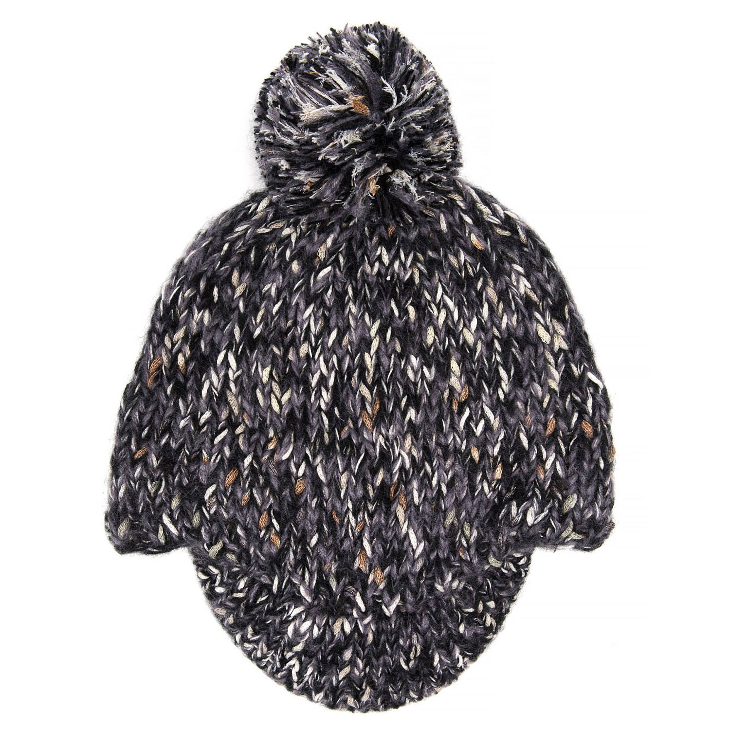 1c465c1c94d Pistil Ozzie Brim Beanie (For Women) in Charcoal ...