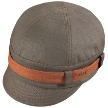 Pistil Parker Jockey Cap - Cotton-Linen (For Women) in Brown - Closeouts